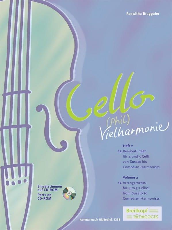 Roswitha Bruggaier - Cello Phil Vielharmonie Volume 2 - Partition - di-arezzo.com
