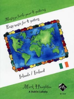 Musique Facile pour 4 Guitares : Irlande - laflutedepan.com