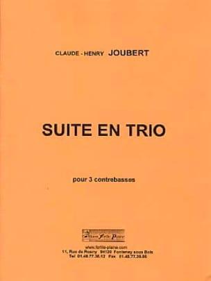 Claude-Henry Joubert - Trio Suite - Partition - di-arezzo.co.uk