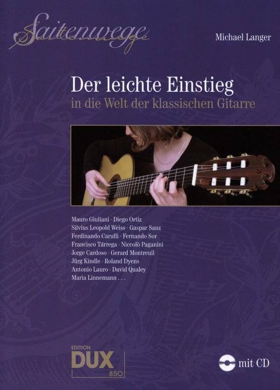 Michael Langer - Der Leichte Einstieg in die Welt der Klassischen Gitarre - Partition - di-arezzo.de