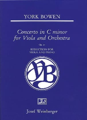 Edwin York Bowen - Concerto In C Minor Op. 25 - Partition - di-arezzo.com