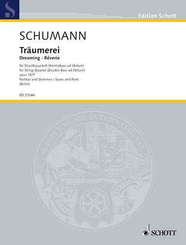 Träumerei Op.15 N°7 - String Quartet - SCHUMANN - laflutedepan.com