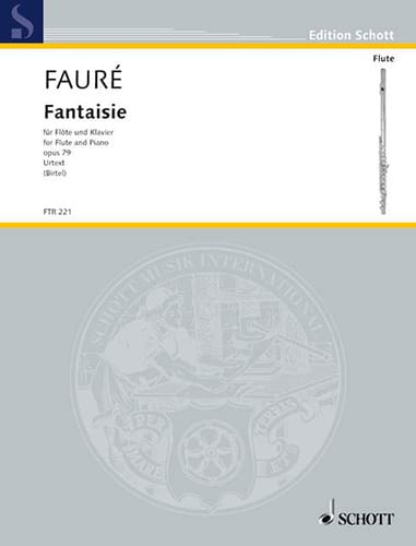 Gabriel Fauré - Fantasy Opus 79 - Partition - di-arezzo.co.uk