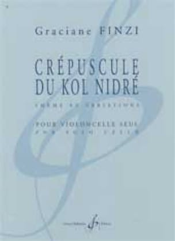 Graciane Finzi - Twilight of Kol Nidré - Partition - di-arezzo.co.uk
