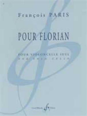 Pour Florian - François Paris - Partition - laflutedepan.com