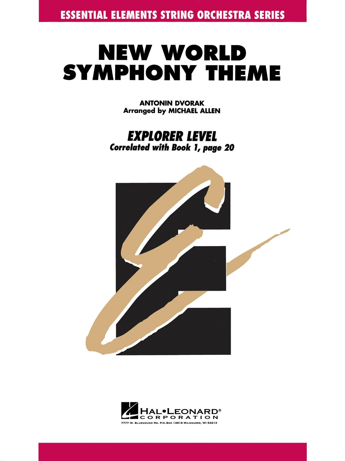 Theme From New World Symphony - Score & Parts - laflutedepan.com