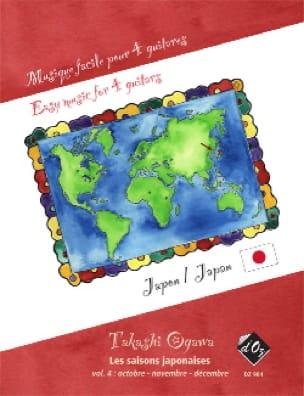Les Saisons Japonaises Vol.4 - Takashi Ogawa - laflutedepan.com