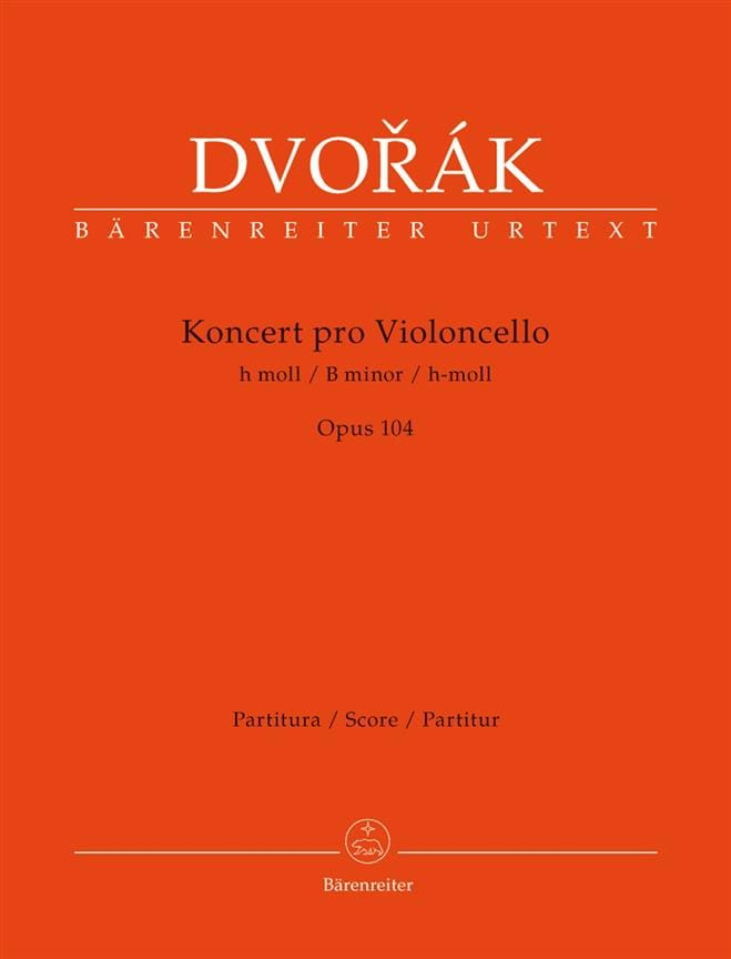 DVORAK - Concerto in Si Min. Opus 104 - Driver - Partition - di-arezzo.co.uk