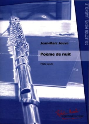 Jean-Marc Jouve - Poema de la noche - Partition - di-arezzo.es