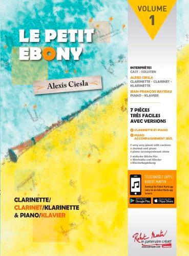 Le Petit Ebony Volume 2 - Alexis Ciesla - laflutedepan.com