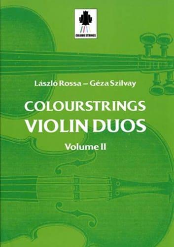 Violin Duos Vol 2 - Laszlo et Szilvay Géza Rossa - laflutedepan.com