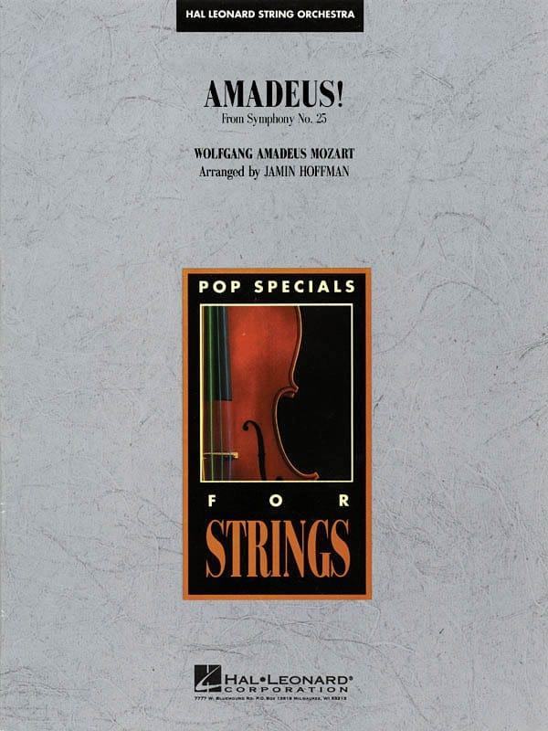 MOZART - Amadeus! - Partition - di-arezzo.co.uk