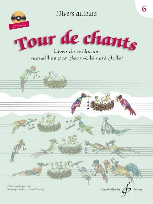Tour de Chants Volume 6 - Jean-Clément Jollet - laflutedepan.com
