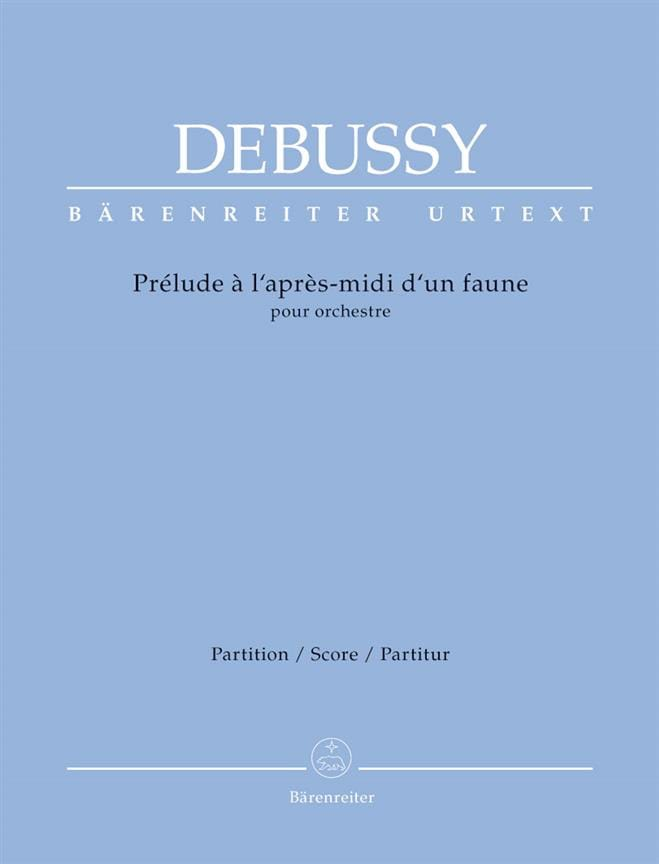 DEBUSSY - Prelude to the Afternoon of a Faun - Partition - di-arezzo.com