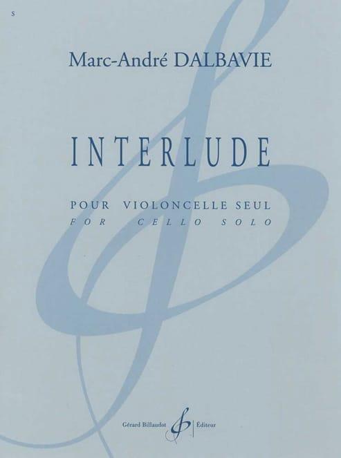 Interlude - Marc-André Dalbavie - Partition - laflutedepan.com