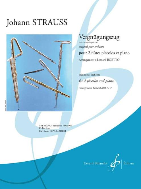 Vergnügungszug - Polka Schnell Op. 281 - laflutedepan.com