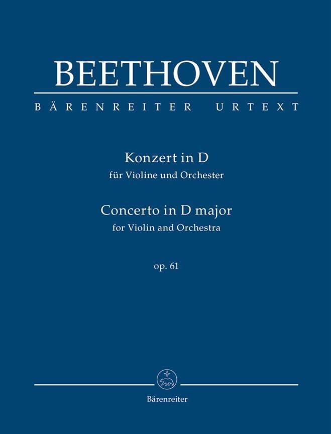 Concerto en Ré Majeur Pour Violon et Orchestre Op. 61 - laflutedepan.com