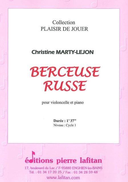 Berceuse Russe - Christine Marty-Lejon - Partition - laflutedepan.com