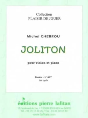 Joliton - Michel Chebrou - Partition - Violon - laflutedepan.com
