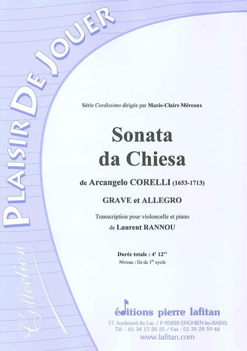 Sonata Da Chiesa - CORELLI - Partition - laflutedepan.com
