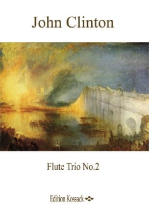 Trio N° 2, Opus 9 - John Clinton - Partition - laflutedepan.com