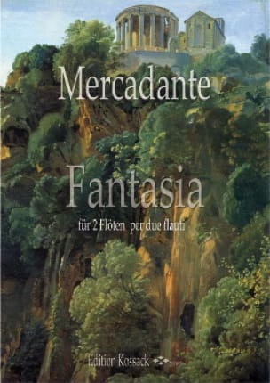 Fantasia - Saverio Mercadante - Partition - laflutedepan.com
