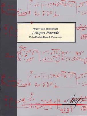 Lilliput Parade - Willy Van Dorsselaer - Partition - laflutedepan.com