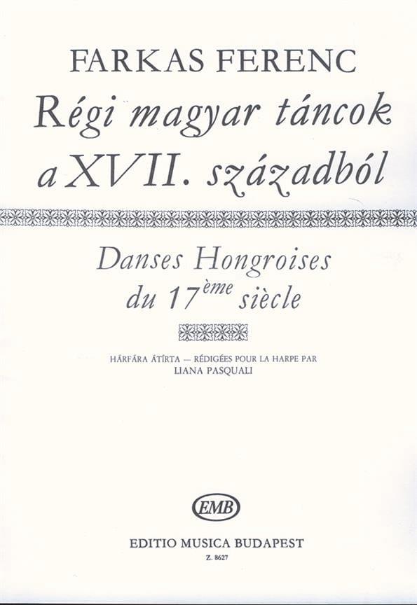 Danses Hongroises Anciennes du 17ème Siècle - laflutedepan.com