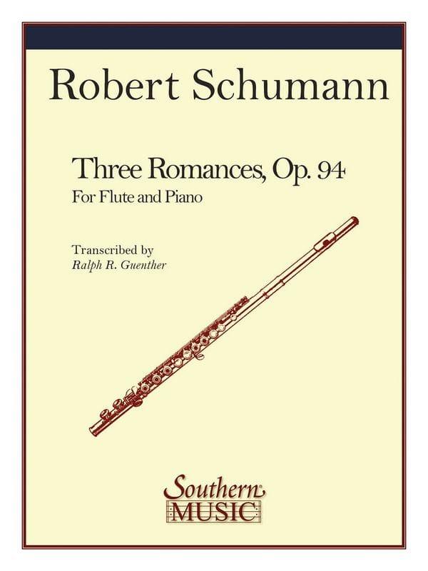 SCHUMANN - 3 Romances - Partition - di-arezzo.com