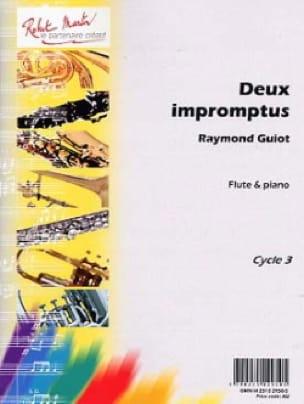 Deux Impromptus - Raymond Guiot - Partition - laflutedepan.com