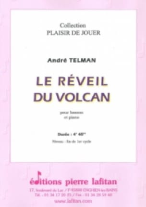 Le Réveil du Volcan - André Telman - Partition - laflutedepan.com