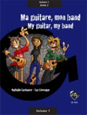 Ma Guitare Mon Band Vol. 1 - Guitare 2 - laflutedepan.com