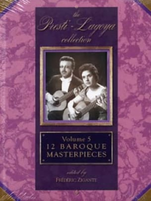 12 Baroque Masterpieces Volume 5 - Partition - laflutedepan.com