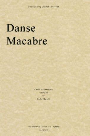 Camille Saint-Saëns - Danse Macabre - Conducteur + Parties - Partition - di-arezzo.fr