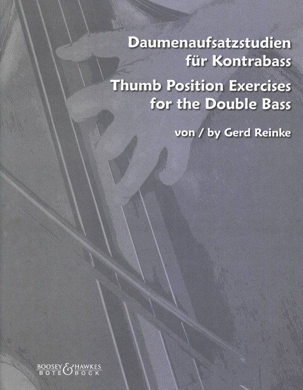 Thumb Position Exercises For The Double Bass - laflutedepan.com