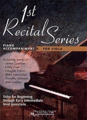 First Recital Series - Piano/Viola - Piano Accompaniments - laflutedepan.com