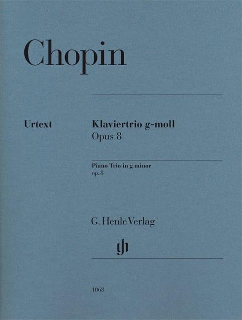 Trio avec Piano en Sol Mineur Op. 8 - CHOPIN - laflutedepan.com