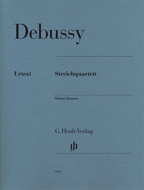 DEBUSSY - Opus 10 String Quartet - Partition - di-arezzo.co.uk