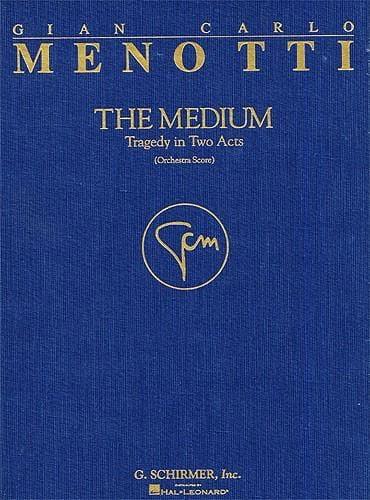 The Medium Cloth Full Score - Gian-Carlo Menotti - laflutedepan.com