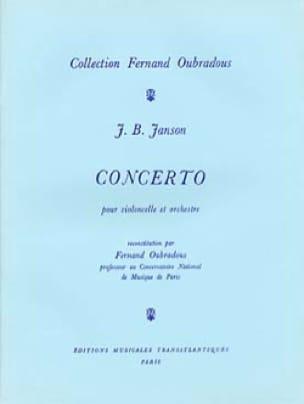 Concerto Pour Violoncelle et Orchestre - laflutedepan.com