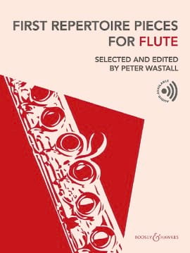 First Repertoire Pieces For Flute - Peter Wastall - laflutedepan.com