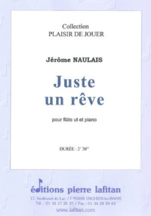 Jérôme Naulais - Just a dream - Partition - di-arezzo.com