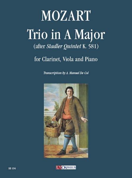 MOZART - Threesome in the Major - Partition - di-arezzo.co.uk