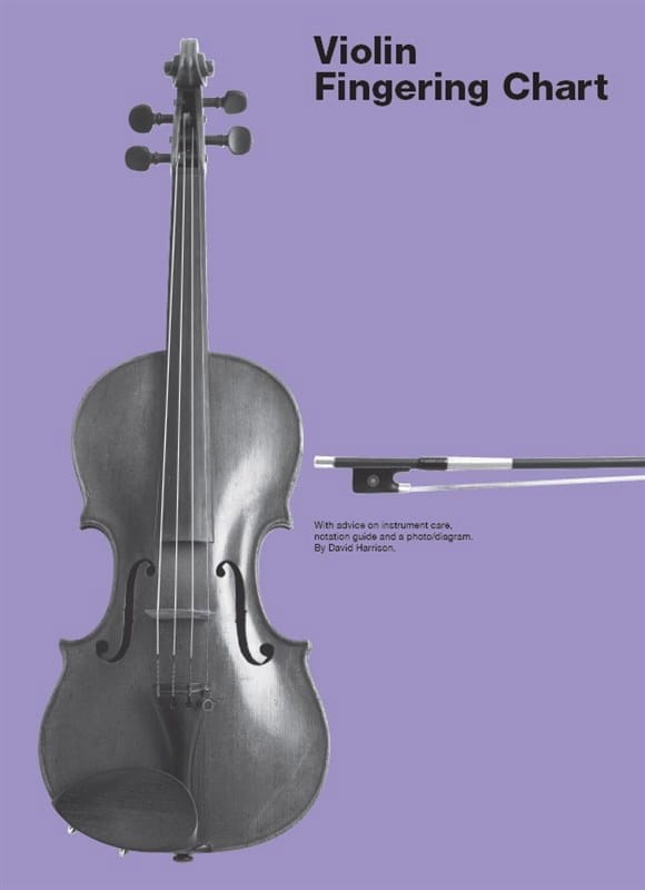 Violin Fingering Chart - David Harrison - Partition - laflutedepan.com