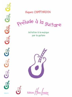 Prélude à la Guitare - Hugues Chaffardon - laflutedepan.com