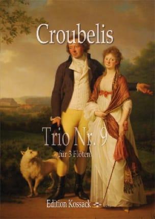 Trio N° 9 - Simoni Dall Croubelis - Partition - laflutedepan.com