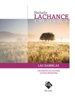 Las Ramblas - Nathalie Lachance - Partition - laflutedepan.com