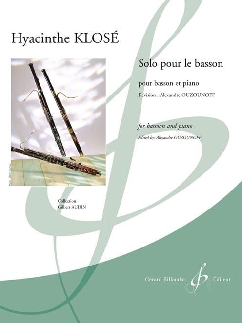 Solo pour le Basson - Hyacinthe Klosé - Partition - laflutedepan.com