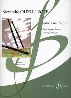 Alexandre Ouzounoff - Bassoon On The Top Volume 2 - Partition - di-arezzo.com