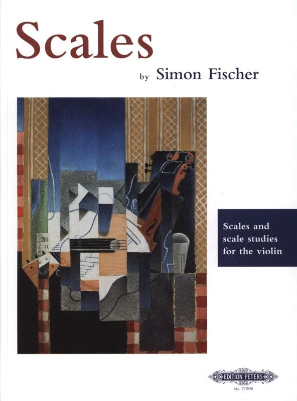 Simon Fischer - Skalen und Tonleiterstudien für Violine - Partition - di-arezzo.de